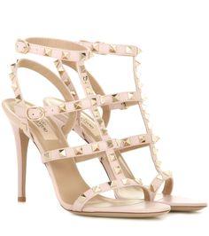 mytheresa.com - Valentino Garavani Sandaletten Rockstud aus Leder - Luxury Fashion for Women / Designer clothing, shoes, bags