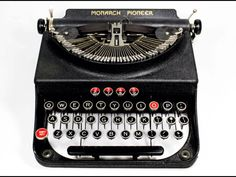 Remington-Rand Monarch Pioneer typewriter   c. 1937