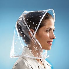 Rain Bonnet, Rain Wedding, Rain Wear, Raincoat, Women's Fashion, Crown, Google, Face, How To Wear