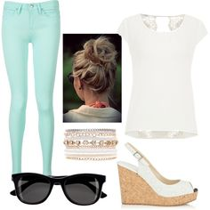 A fashion look from May 2015 featuring maurices blouses, Tommy Hilfiger jeans and Jimmy Choo sandals. Browse and shop related looks.