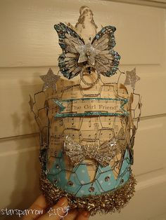 Chickenwire Crown by ashleyboccuti, via Flickr