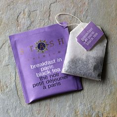 Aromatic and floral, lavender is the perfect complement to the citrus bergamot oil and full-bodied black tea.