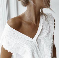 beautiful white eyelet lace