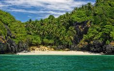 Daydream of a tropical island