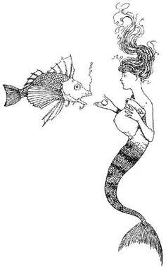 W. Heath Robinson's Little Mermaid 4
