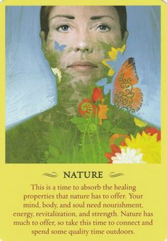 Nature is offering the warmth of the sun & healing of earth. Breathe in the wonder of nature's colors. Pray in the light of Angel Guidance, Spiritual Guidance, Spiritual Power, Spiritual Wisdom, Oracle Tarot, Oracle Deck, Numerology Chart, Doreen Virtue, Angel Cards