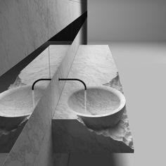 HENRYTIMI   bathrooms   washbasin   exclusive bathroom, minimal design washbasins, stone porphyry marble granite bathrooms, tailor made washasin, made in italy bathroom, quality washbasins, solid wood metal iron aluminium brass bathrooms