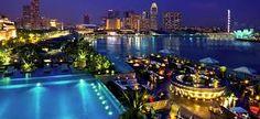 Fullerton Bay Hotel infinity pool - Tìm với Google