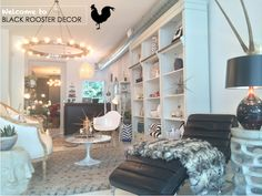 chic and sophisticated ~ fall shopping at black rooster decor