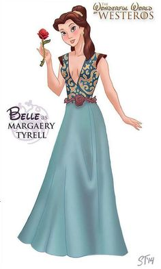 Game Of Thrones Disney Princesses Of Westeros