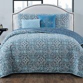 Found it at Wayfair - Brookman 5 Piece Reversible Quilt Set