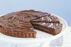 This luscious chocolate pie will satisfy all your sweet tooth cravings.