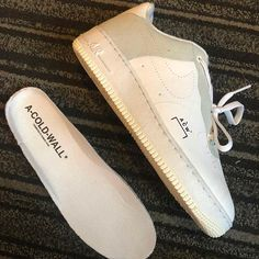 brand new a0e3b 7dc8f A-COLD-WALL Is Dropping A Collaborative Nike Air Force 1 Low Storbymode,
