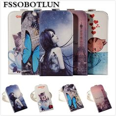 Factory price,Top quality Cartoon Painting Vertical flip PU leather mobile phone bag case For Elephone P9000 Edge #Affiliate