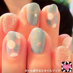 ネイル 画像 moga hair WITH & nail ASILAH 幸手 748877