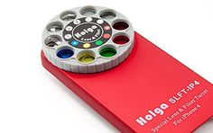 iPhone Case with camera lenses