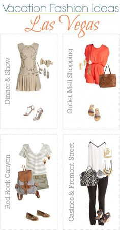 Fun Summer Vacation Fashion Ideas to help you look your very best no matter where your travels take you this year!
