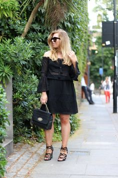 Little Black Boho Dress // Jenni Ukkonen