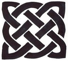 celtic drawings | simple celtic knot drawing courtesy of gmc