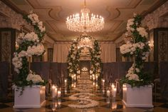 The US Grant Wedding Event and Brunch - Crystal Ballroom styled by White Wedding Day Events via our #SomethingBorrowed partner, Couture Events