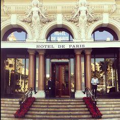 Hotel De Paris - Monaco.