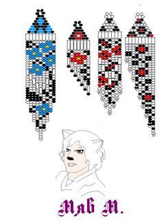 Серьги 29 орнамента обновления +3 (19.05.2014)   biser.info - всё о бисере и бисерном творчестве