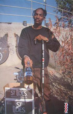Snoop Advertises.