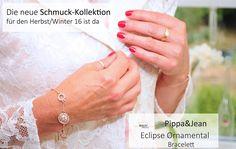 Herbst Winter Schmuck Kollektion 2016 #PippaJean #Schmuck #Armbänder #Bracelet #Roségold