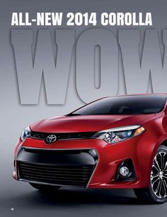 Nice example of a Toyota Corolla ad enriched with Layar.