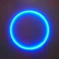 blue neon sign cool - Google Search