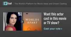 Morgana O'Reilly as Amanda Evans in Worlds Apart? Support this movie proposal or make your own on The IF List.