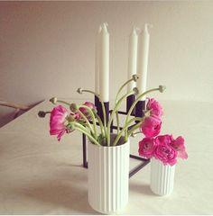 Lyngby vase and Kubus