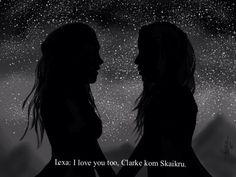 Lexa & Clarke   ONLY CLEXA   Клекса