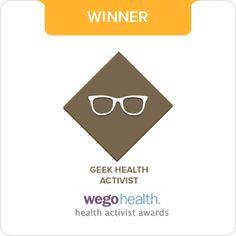 Julie Flygare — Winner of the WEGO Health Activist Geek Award 2014!