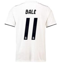 c588fcf32 Real Madrid Bale 11 Jerseys Mens Home Soccer T-Shirt Jersey 18-19 Season  Color White(S-XL) - CA18NGLW926