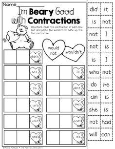 Valentines Day Activities Valentines Spelling  Words Bundle