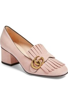 b06938487 Gucci Marmont Pump (Women) available at #Nordstrom Gucci Loafers Women,  Gucci Shoes
