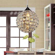 Lujo K9 Bola de Cristal de La Lámpara Pendiente Accesorio de Iluminación de Techo Lámpara de Restaurante Dormitorio Cafe Bar Colgante Luz de la Tienda Del Club de Casa(China (Mainland))