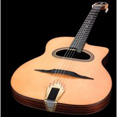 Altamira M01TD Thin Body D-hole Maccaferri Jazz Acoustic | Guitar ...