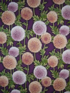 Thistle Print Cotton Fabric