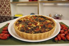 Torta Vegetariana de Páscoa | Receitas | Dia Dia