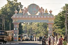 Love this place in India. It is Puttaparthi.