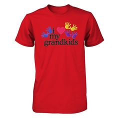 I Love My Grand Children  Show the World how much you Love your Grand Children with this Limited Edition T-Shirt.  Not Available in Stores.  Secure Payment Via MC/VISA or Paypal Satisfaction Guaranteed.  Comes in 3 Great Colors  Sizes up to 3XL  Select your Style, Size and Order.
