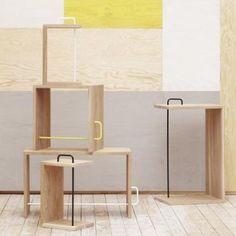 Anton Stool / Side Table | jan Kurtz | AmbienteDirect.com