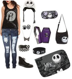 """""""Nightmare Before Christmas"""" by jacquelinehall on Polyvore"""
