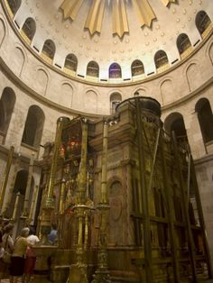 Tomb of Jesus Christ, Church of the Holy Sepulchre, Old Walled City, Jerusalem, Israel