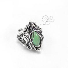 Elvish Wire Wrapped Jewelry by Lunarieen - The Beading Gem's Journal