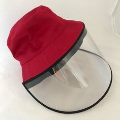 A large, soft, round hat with a short brim in vibrant colours and a detachable visor. Circumference of the hat is 56cm. All The Colors, Vibrant Colors, Colours, Round Hat, Visors, Drip Dry, Kids House, 6 Years, Hats