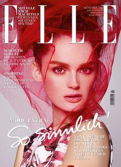 ELLE Cover November 2014 – Lisa Cant