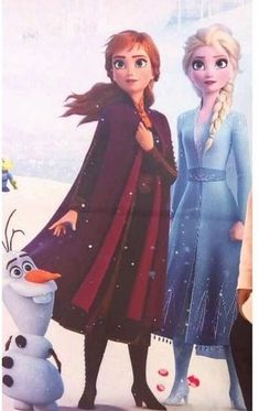 Full body picture of Anna and Elsa from Disney Frozen 2 movie Frozen Disney, Walt Disney, Disney Nerd, Disney Magic, Disney Movies, Anna Frozen, Frozen Art, Frozen Anime, Frozen Movie